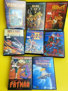 8 Sega Drive Import games 80s & early '90s RARE