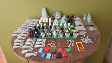 LEGO Harry Potter mini figures, owls and various parts