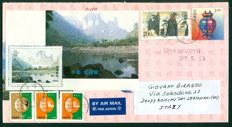 P. R. China Postal History 1977/2013 Lot of 165 covers