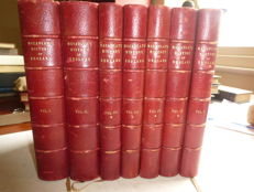 Lord Macaulay - history of England - 7 volume set - 1881