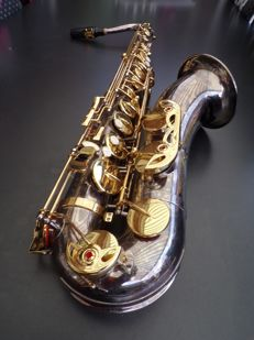 Eastman silver plated tenor saxophone, directly playable