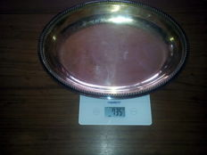 Antique silver plated tray Sheffield (1860-1890)