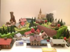 Faller/Vollmer N - Village with scenery