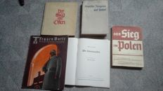 Lot original German photo books WW2   Htlerjugend , Deutscher Madel .....etc ..........