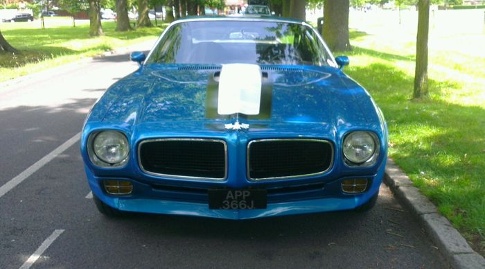 Pontiac - Firebird Trans Am  - 1971