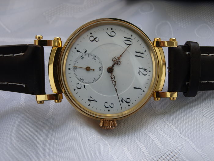 21. Anonymus men's marriage wristwatch - first half of XX century