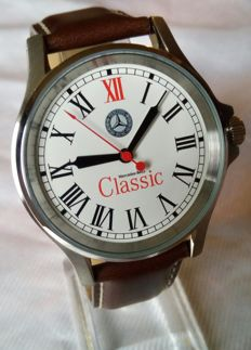 Mercedes-Benz Classic - Box with men's watch with leather band - 2012