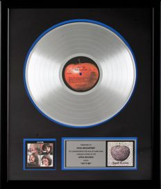 "The Beatles Platinum Capitol Records In-house Award - ""Let it Be"""