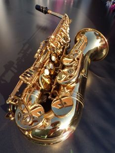Jupiter S-767 alto saxophone, directly playable
