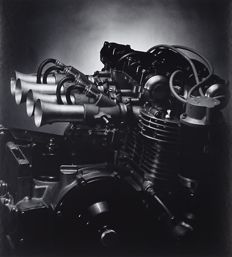 Don Cameron (1943-2016 ) - Engine Detail - 1985