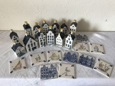 Lot with 13 KLM houses + 11 KLM tiles