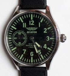 Molnija mariage watch - men's - large line -  Pilot– Aviator -1970s