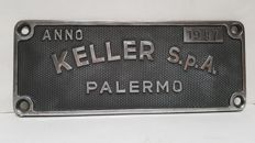 Advertising sign - Keller SPA - year: 1997