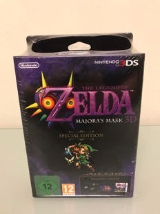 Brand New Sealed 3DS Game Zelda Majora's Mask 3D Special Edition