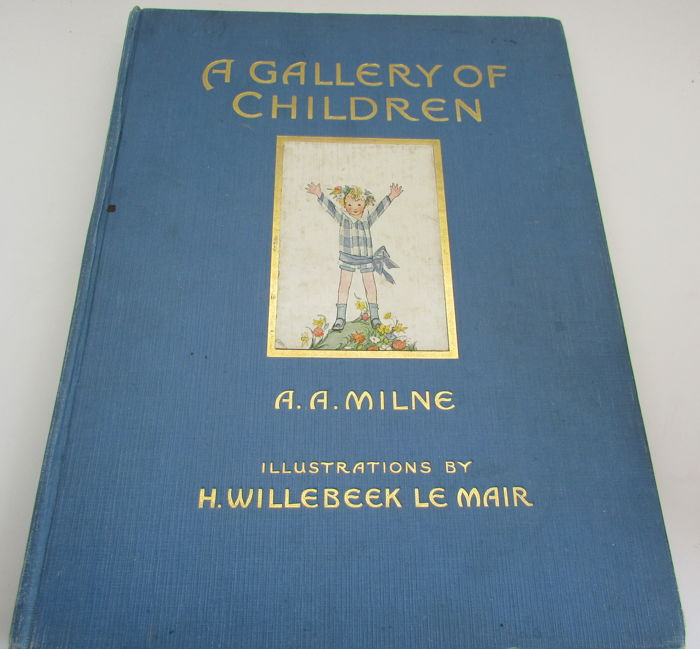 A. A. Milne - A Gallery of Children - 1925 for sale