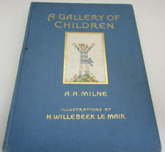 A. A. Milne - A Gallery of Children - 1925