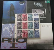 The Nits / Toto / Magna Carta / Rio Reiser / Cold Specks: Nice mixed ROCK/POP lot: 4 albums (5LP's) on 180 gram vinyl + 1x 12inch EP