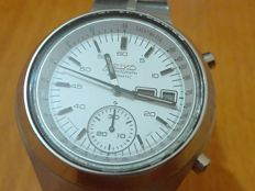 Seiko helmet chronograph men's watch