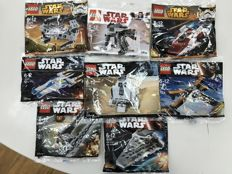 Star Wars - 30272 + 30275 + 30277 + 30278 + 30279 + 30496 + 30497 + 30611 - Rare Polybags