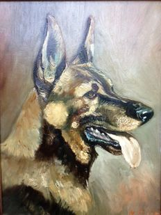H. Thiem (20th century) - German Shepherd