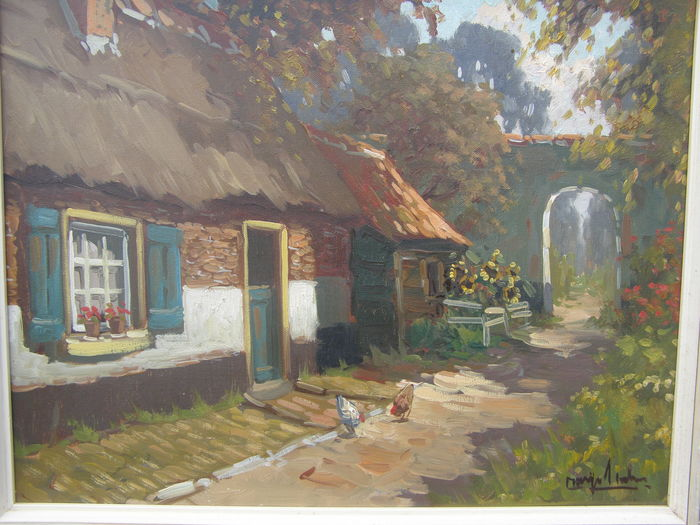 Margo Tholen ( 1870-1911 ) -  Farm view