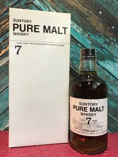 Suntory Pure Malt Whisky 7 Year Old White Box Limited Edition