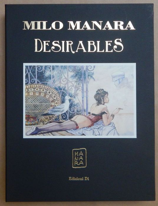 "Manara, Milo - Portfolio of 10 ""Desirable"" posters"