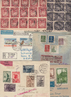Russia, 1920/1948 – Collection with 16 different postcards