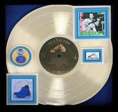 "Gold Record Award For Elvis 1St (Debut) Album  1956  ""Elvis Presley / Elvis Presley"""