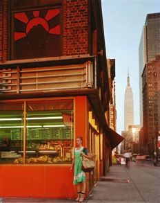"Joel Meyerowitz (1938-) - ""Young Dancer"" New York City, 1978"