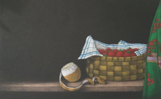 Yokoi Tomoe - Strawberries in a Basket