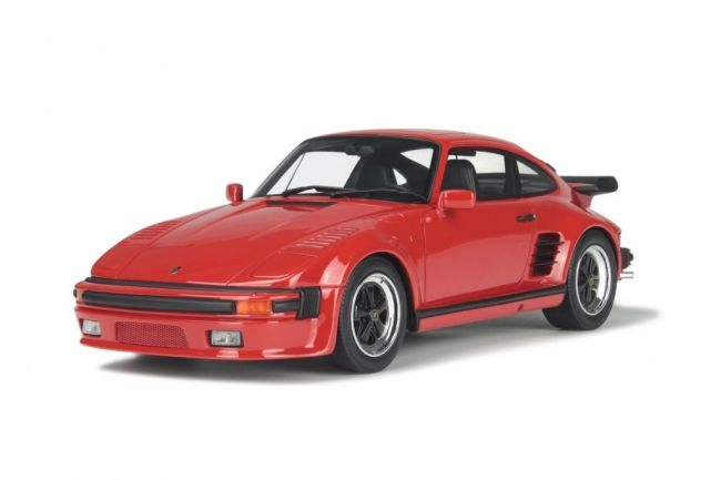 GT-Spirit - Scale 1/18 - Porsche 911 ( 930 ) Turbo Flat Nose - Limited 504 pieces - Colour Red