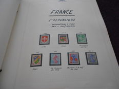 France 1960/1978 – Collection in importa album.