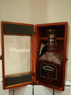 Jack Daniels single barrel wooden box