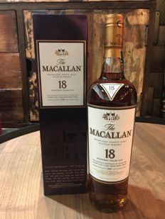 Macallan 18 years old Sherry Cask 1997 Release