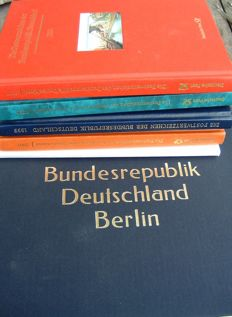 "Federal Republic of Germany 1949 through 2002 in DAVO album and ""postwertzeichen"" booklets."