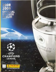 Panini- Champions League 2008/2009 - Komplettes Album.
