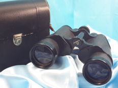 Vintage Standard Optik Binoculars - TJK  7x50, 124m/1000m with case - German