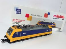 Märklin H0 - 36622 - electric locomotive Series E 186 009-4 of the Nederlandse Spoorwegen (NS). Actual operational condition 1934