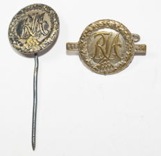 Set of Reich Youth Sports Badges