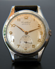 CORTÉBERT SPIROFIX - Men's wristwatch from 1950s - Good condition.