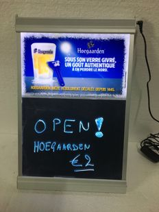 Hoegaarden black light 2pcs - circa 2005