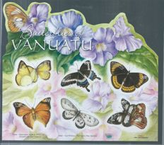 Butterflies - topical collection on stock cards