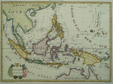 Indonesia; Pierre Lapie - Océanique Occidentale - 1812