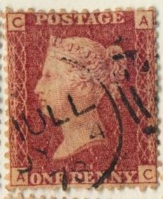 Great Britain – Penny reds including complete plate reconstruction