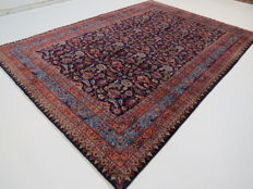 Wonderful, beautiful Persian carpet Moud/Iran 283 x 201 cm, end of the 20th century Oriental carpet ***top professional cleaning***