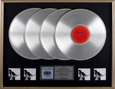 Bruce Springsteen - Columbia In-house 4x Platinum record award