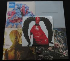 Arca (RED vinyl) / Battles / Seefeel / Seiji Nagai + α / Fennesz • Daniell • Buck: nice lot of electronic/experimental music: 4 albums (6LP's) + 1x 12inch single * Mute / WARP and more...*