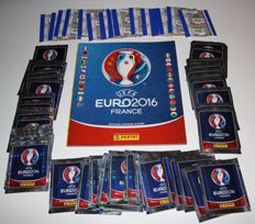 Panini - Euro 2016 France - Original empty album with 80 original unopened packets