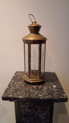 Copper grave lantern - 1st half 20th century